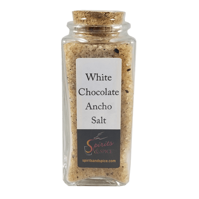 white chocolate ancho salt bottle