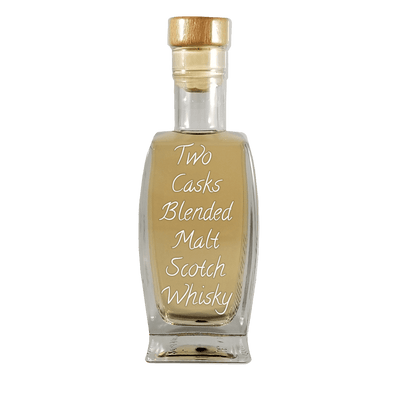 Two Casks Blended Malt Scotch Whisky 375 ml bottle