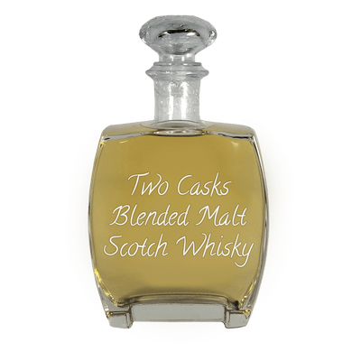 Two Casks Blended Malt Scotch Whisky 750 ml Paloma bottle