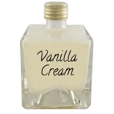 Vanilla cream liqueur 100 ml bottle