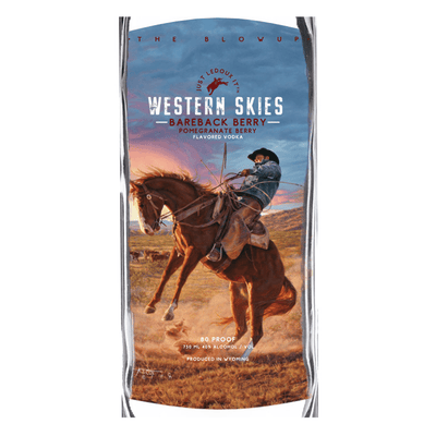 Just LeDoux It Western Skies Bareback Berry Pomegranate Vodka
