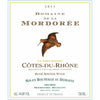 Mordoree Cotes du Rhone Rose label