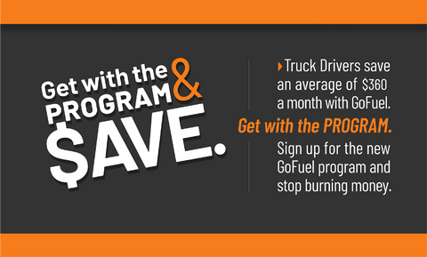 GoFuel saves you money on fuel right at the pump. Easy to sign up and save today!