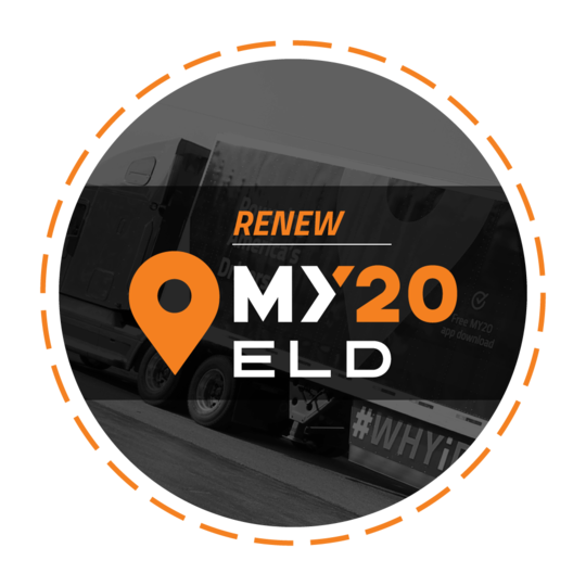 My20 ELD - Auto-renew Subscription Only (No additional hardware required)