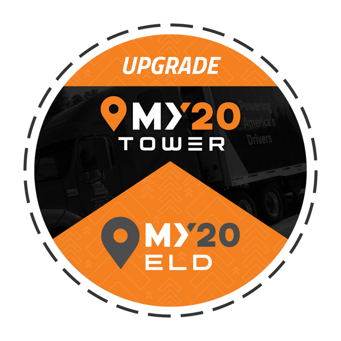 Upgrade Subscription My20 ELD to My20 Tower