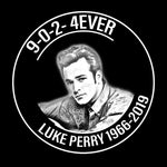 Luke Perry 4 Eva Memorial Rip T Shirt