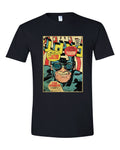 Stan Lee Captain America Comic Book Cover Graphic T Shirt