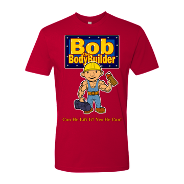 Swoll Shop Bob The BodyBuilder Funny Gym Workout Shirt