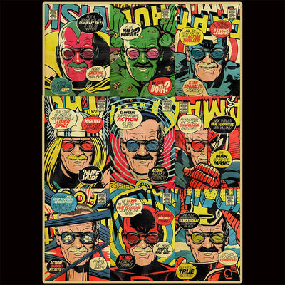 Comic cover stan lee