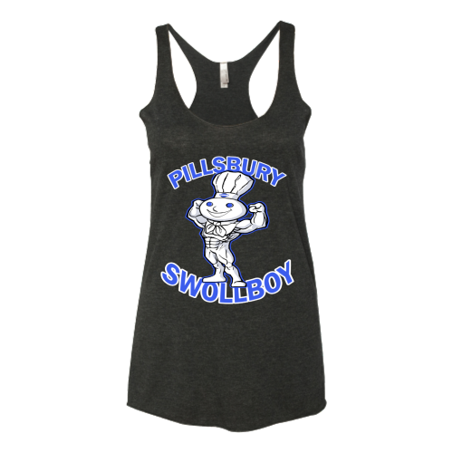 Pillsbury Swollboy - Funny Workout Shirt and Tank Top