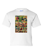 Stan Lee Comic Book Cover Collage Graphic T Shirt