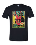Stan Lee Vision Comic Book Cover Graphic T Shirt