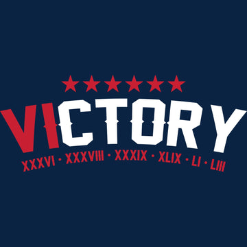 Victory New England Patriots Super Bowl 53 T Shirts LIII Graphic Tee