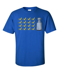 Boxes Checked St Louis Blues Hockey Graphic T, St Louis Blue Shirt
