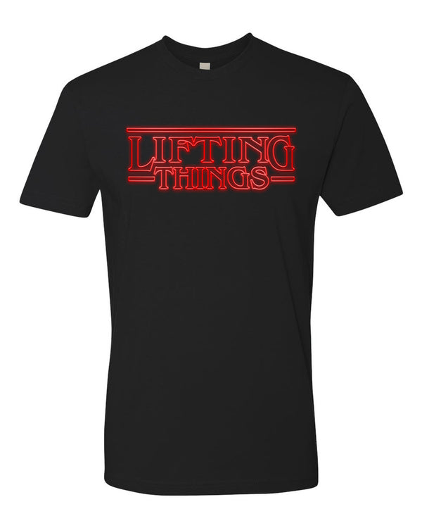 Stranger Things Funny Workout T Shirt