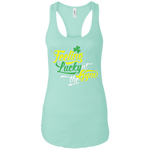 NL1533 Next Level Ladies Ideal Racerback Tank--Feeling Lucky