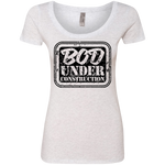 NL6730 Next Level Ladies' Triblend Scoop - Bod Under Construction