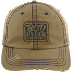 6990 Distressed Unstructured Trucker Cap - Bod Under Construction