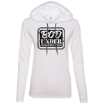 887L Anvil Ladies' LS T-Shirt Hoodie - Bod Under Construction