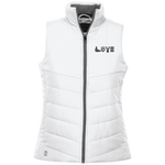 229314 Holloway Ladies' Quilted Vest--LOVE