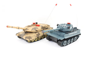 TWO FIGHTING INFRA RED TANKS - IG Gifts