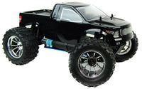Bug Crusher 1:10th Nitro RC Monster Truck 2.4Ghz - Black Pick Up