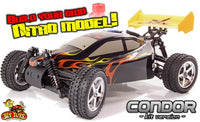 Condor Self Build Nitro RC Buggy Unassembled Kit - IG Gifts