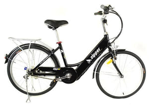 "Z5 City Deluxe Electric Bike 24"" - Midnight Blue - IG Gifts"