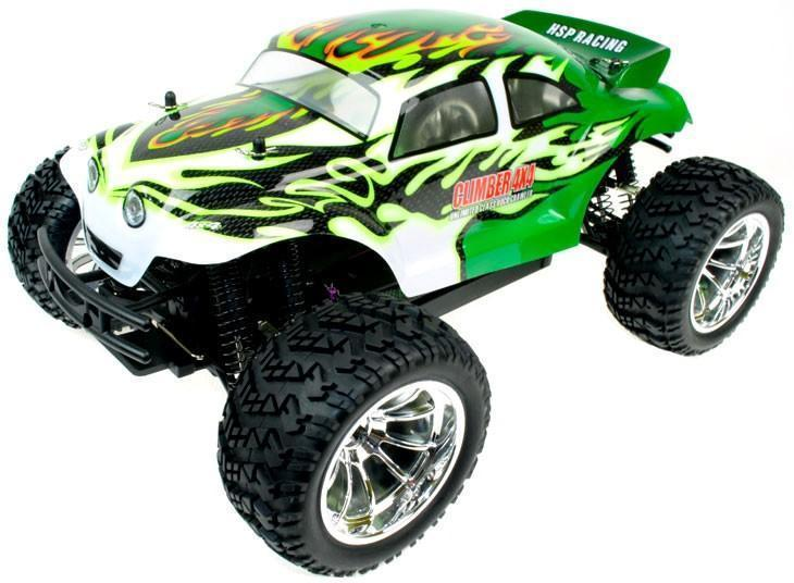 Beetle 1:10 Scale 4WD Electric Radio Controlled Monster Truck 2.4G - IG Gifts