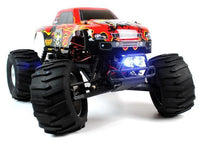 Circuit Thrash - 1:9 Scale RC Monster Truck with LED Lights - Brushless 2.4GHz Version - IG Gifts