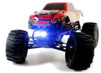 Circuit Thrash 1:9 Scale RC Monster Truck with LED Lights - Brushless - IG Gifts
