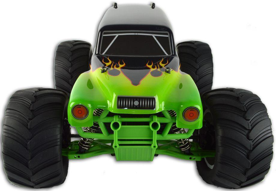 b3ba39a4e0dc HSP Electric Remote Controlled Monster Truck 2.4Ghz - R-SPEC Green