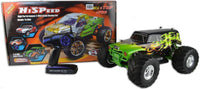 HSP Electric Remote Controlled Monster Truck 2.4Ghz - R-SPEC Green - IG Gifts