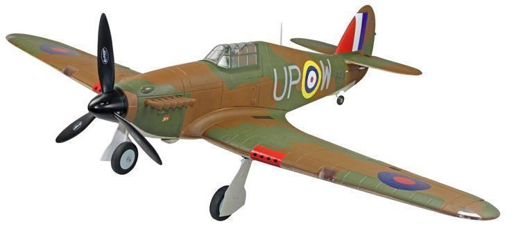 Hawker Hurricane 5Ch RTF RC Plane With Retracts - IG Gifts