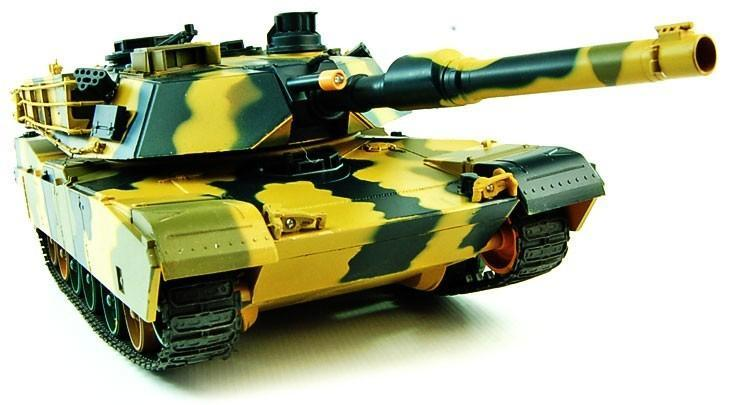 1/24 Airsoft BB M1A2 Battle RC Tank - IG Gifts