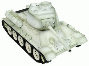 SOLD OUT! Taigen Hand Painted RC Tank T34/85 White Winter Camo - Full Metal - 2.4GHz - IG Gifts