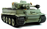 Taigen Hand Painted RC Tank Early Version Tiger I Grey Camo - Full Metal Upgrade - 2.4GHz - IG Gifts