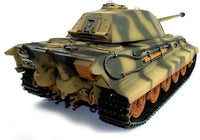 Taigen Hand Painted RC Tank - Full Metal Upgrade - King Tiger - 2.4GHz - IG Gifts