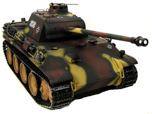 Taigen Hand Painted RC Tank - Metal Upgrade - Panther G - 360 Turret - IG Gifts