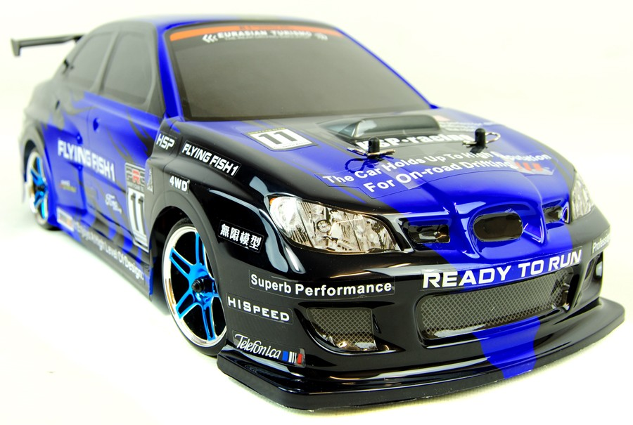 Subaru WRX Style Drift RC Car - PRO Brushless (Fast!) Version - IG Gifts