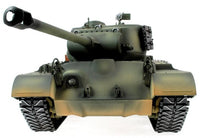 Taigen Hand Painted RC Tanks - Metal Upgrade - M26 Pershing - WITH FREE EXTRA BBs & SMOKE LIQUID! - IG Gifts