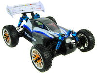 Trojan 1:16 RC Racing Buggy 2.4G - PRO Fast Brushless 4WD Version