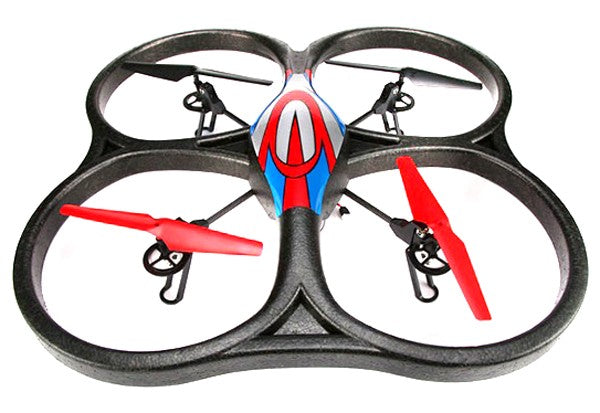 WL Toys V666 4Ch 6 Axis RC Quadcopter 2.4Ghz RTF With FPV Live Video Feed - IG Gifts