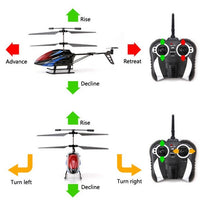 Z010G 3Ch Metal Co-Axial Remote Control Helicopter With Gyro - 2.4Ghz - IG Gifts
