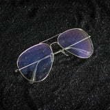 BLUE LIGHT AVIATOR SILVER