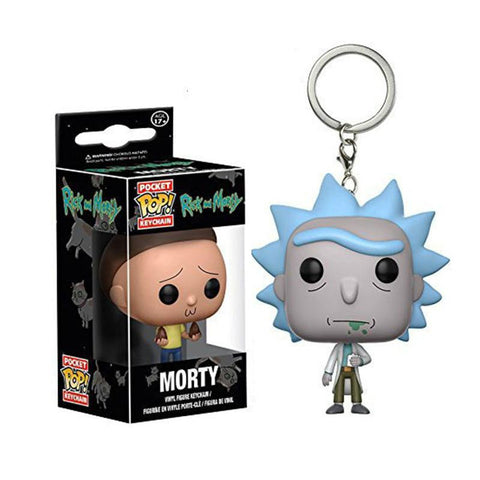 FunKo POP Rick and Morty Keychains