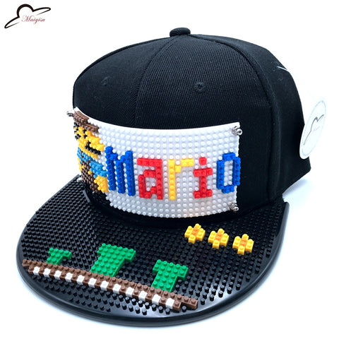 DIY Super Mario Lego Brim Hat
