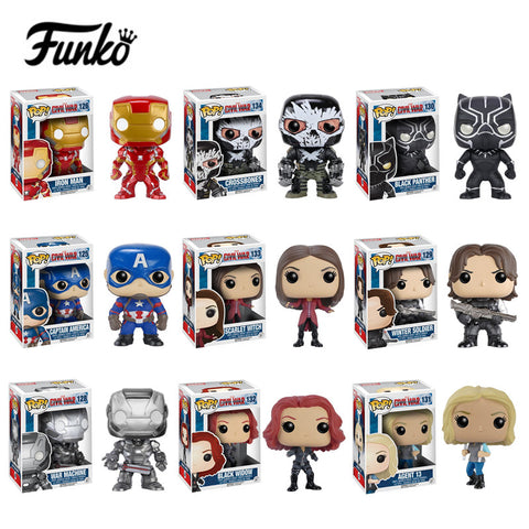 Funko POP Marvel Comics Keychain Multiple Designs