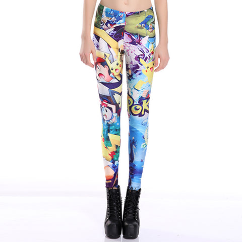 Pokemon Colorful Leggings