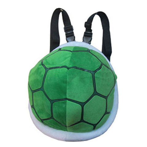 Super Mario Mario Turtle Shell Plush Backpack